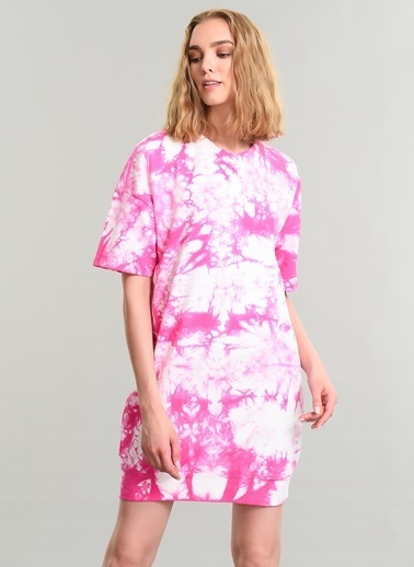 Batik Yıkamalı Elbise-Agenda